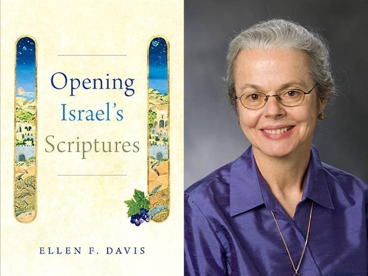 Opening Israel's Scriptures cover with Ellen Davis headshot