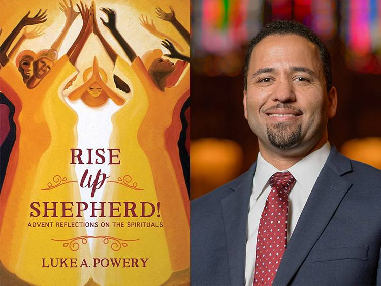 Rise Up, Shepherd cover with Luke Powery headshot